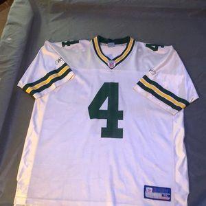 Green Bay Packers Brett Favre NFL Throwback 2004